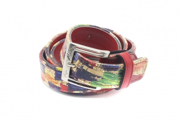 Parade model belt, manufactured in Corcho Picasso