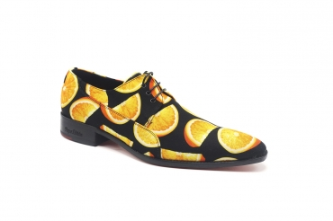 Zapato modelo Navel, fabricado en Orange Slices_C