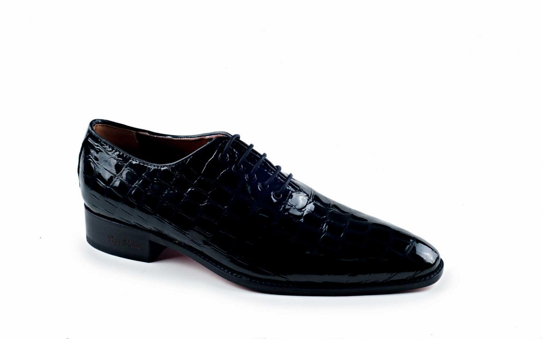 Boston Homme Saphirschwar À De Modèle Chaussures D'affairesFait 8OknwPXNZ0