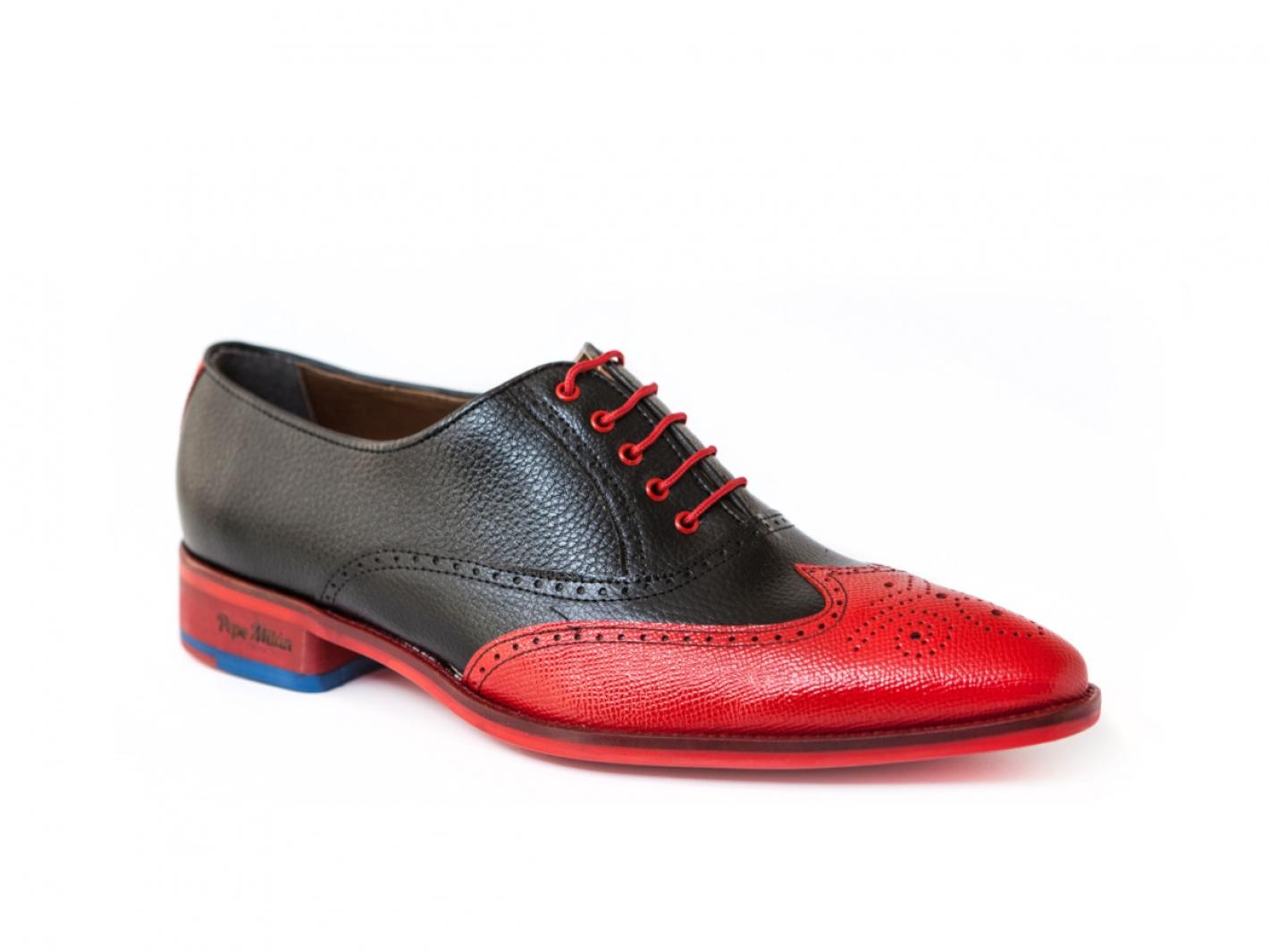 Chaussure Karacas Rouge Noir Modèle En Et MaracaiboFabriquée Ka HYD9eEIbW2